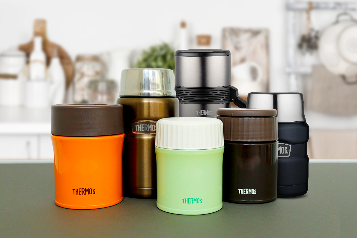 Thermos SG Cooking Simple Meals On the Go with Thermos Food Jars Hero